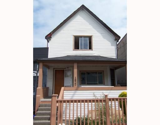 Main Photo: 1827 PANDORA Street in Vancouver: Hastings House for sale (Vancouver East)  : MLS®# V794316