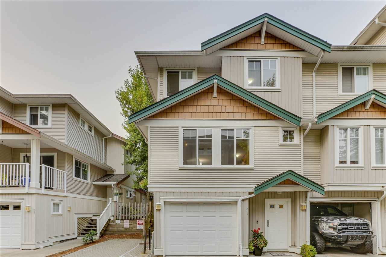 """Main Photo: 26 12711 64 Avenue in Surrey: West Newton Townhouse for sale in """"Palette on the Park"""" : MLS®# R2498817"""
