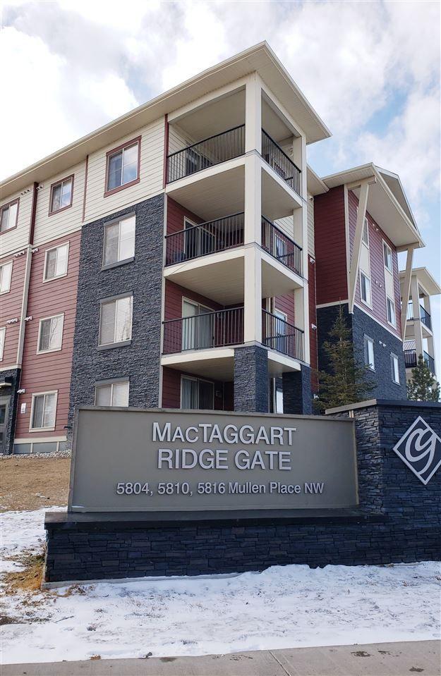 Main Photo: #313, 5804 Mullen Place in Edmonton: Zone 14 Condo for sale : MLS®# E4234473