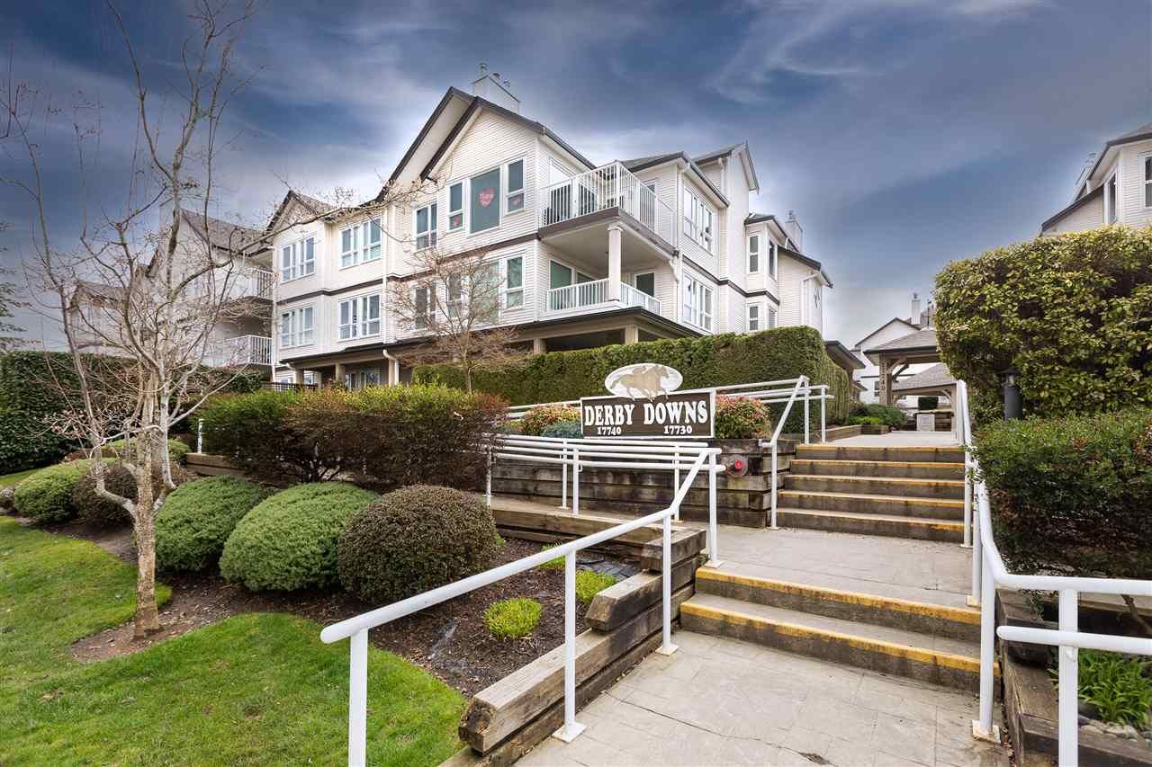 """Main Photo: 104 17730 58A Avenue in Surrey: Cloverdale BC Condo for sale in """"Derby Downs"""" (Cloverdale)  : MLS®# R2558226"""