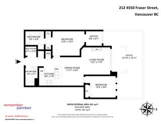 """Photo 35: 212 4550 FRASER Street in Vancouver: Fraser VE Condo for sale in """"CENTURY"""" (Vancouver East)  : MLS®# R2580667"""
