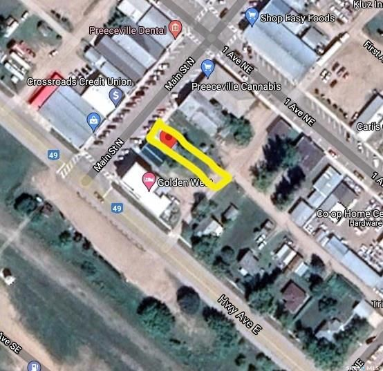 Main Photo: 14 Main Street North in Preeceville: Commercial for sale : MLS®# SK851726