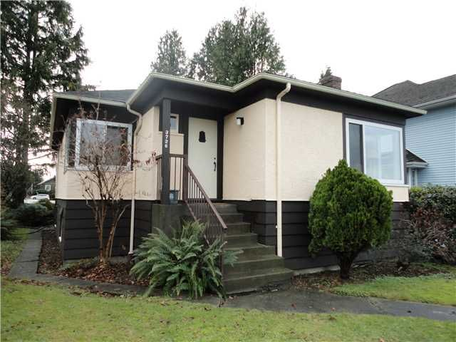 Main Photo: 3726 TRINITY Street in Burnaby: Vancouver Heights House for sale (Burnaby North)  : MLS®# V1096572