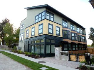 Photo 1: 1769 E 20TH AV in Vancouver: Victoria VE Condo for sale (Vancouver East)  : MLS®# V1005108