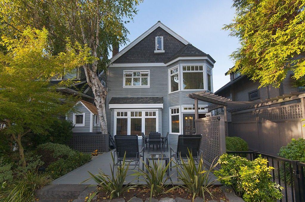 Main Photo: 3535 W 5TH Avenue in Vancouver: Kitsilano 1/2 Duplex for sale (Vancouver West)  : MLS®# R2001712