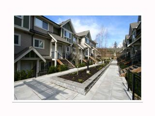 "Photo 1: 17 6888 RUMBLE Street in Burnaby: South Slope Townhouse for sale in ""CANYON WOODS"" (Burnaby South)  : MLS®# V816119"
