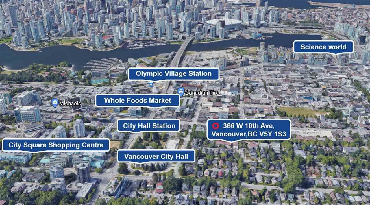 """Main Photo: 366 W 10TH Avenue in Vancouver: Mount Pleasant VW Townhouse for sale in """"TURNBULL'S WATCH"""" (Vancouver West)  : MLS®# R2559760"""