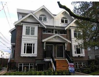 Photo 1: 2860 SPRUCE Street in Vancouver: Fairview VW Townhouse for sale (Vancouver West)  : MLS®# V707487