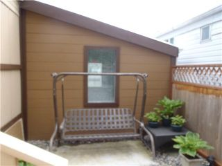 """Photo 10: 40 4200 DEWDNEY TRUNK Diversion in Coquitlam: Ranch Park Manufactured Home for sale in """"HideAway Park"""" : MLS®# V923597"""