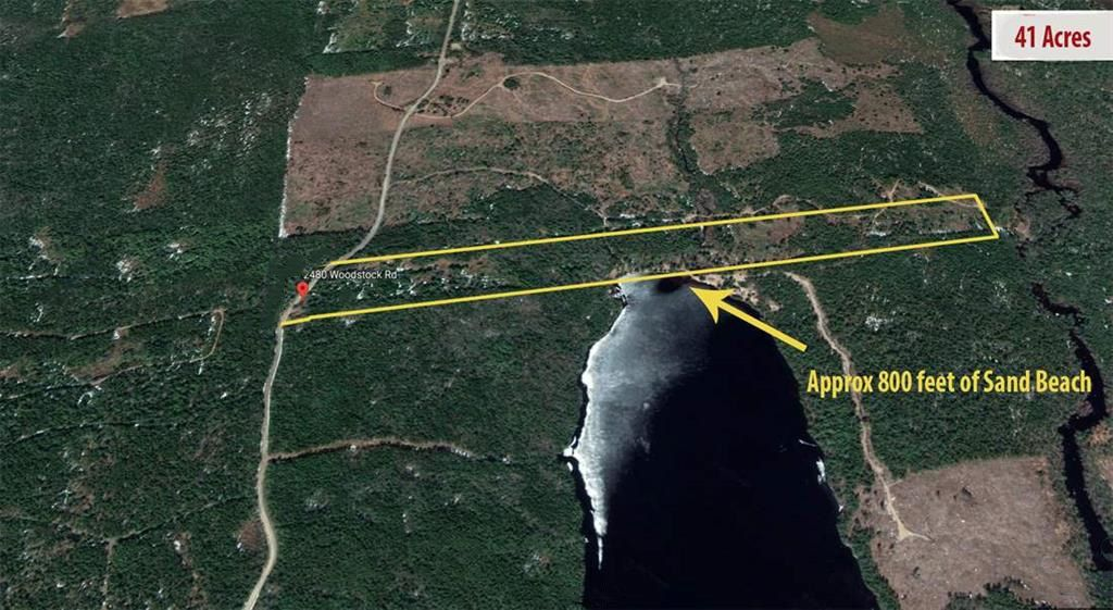 Main Photo: 2480 Woodstock Road in Walden: 405-Lunenburg County Vacant Land for sale (South Shore)  : MLS®# 202100408