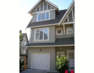 """Photo 1: 71 15175 62A Avenue in Surrey: Sullivan Station Townhouse for sale in """"Brooklands"""" : MLS®# F2825795"""