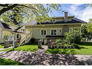 Photo 1: 2315 BALSAM Street in Vancouver: Kitsilano Townhouse for sale (Vancouver West)  : MLS®# V1074012