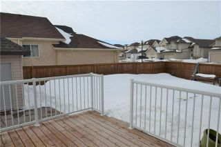 Photo 20: 26 Grassy Lake Drive in Winnipeg: South Pointe Residential for sale (1R)  : MLS®# 1905565