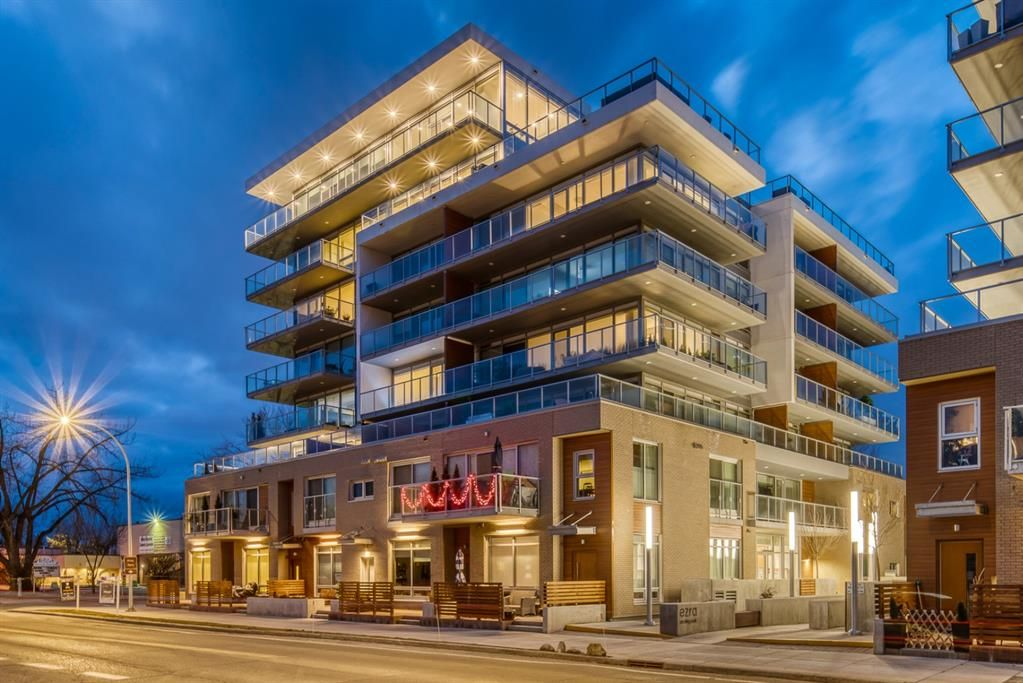 Main Photo: 2701 1234 5 Avenue NW in Calgary: Hillhurst Apartment for sale : MLS®# A1082177