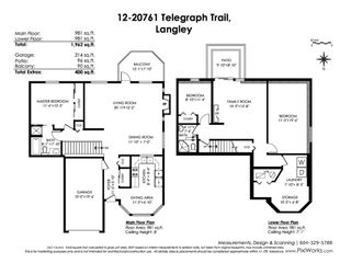 """Photo 20: 12 20761 TELEGRAPH Trail in Langley: Walnut Grove Townhouse for sale in """"Woodbridge"""" : MLS®# R2456523"""