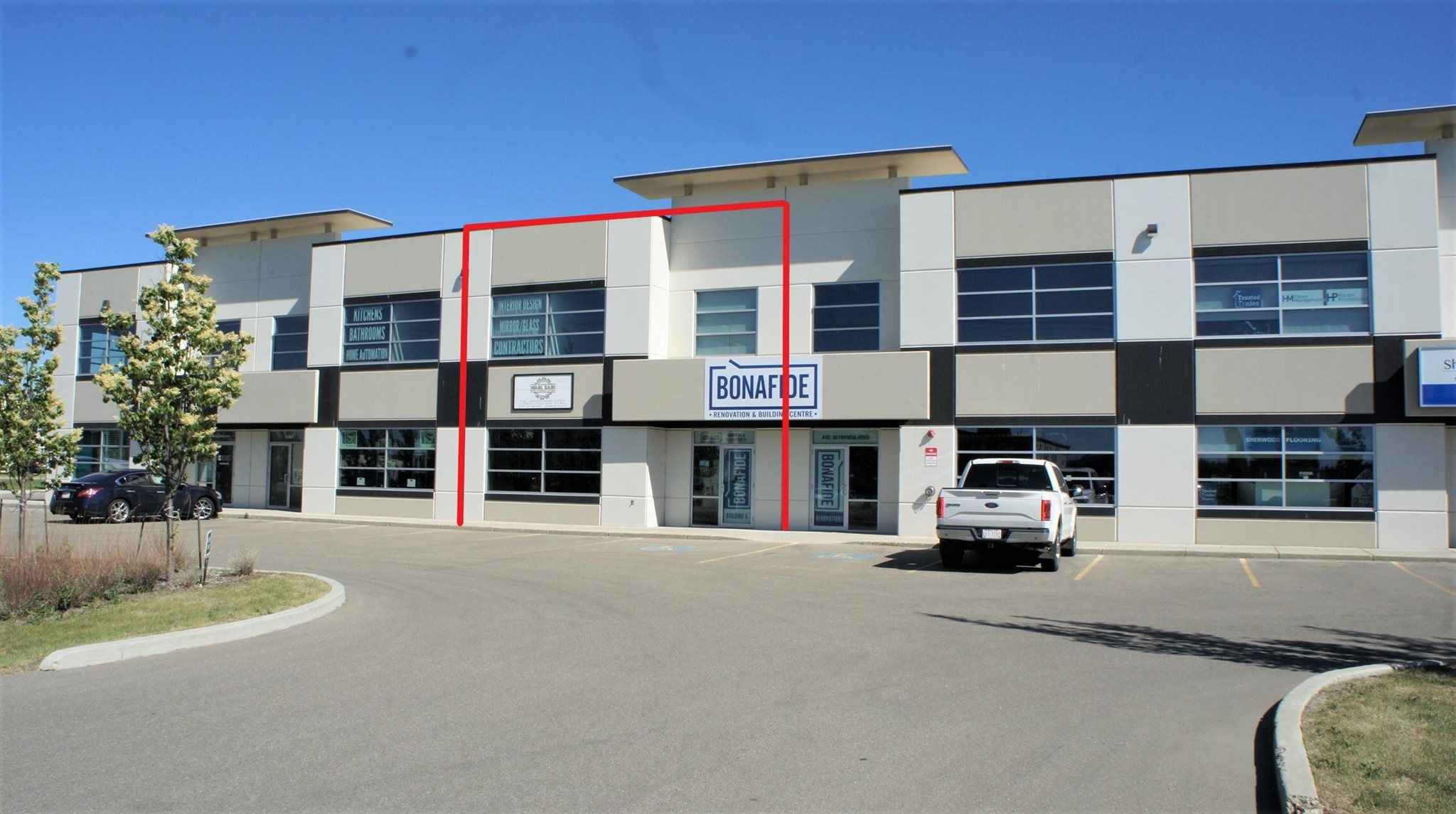 Main Photo: 103 108 PROVINCIAL Avenue: Sherwood Park Industrial for sale or lease : MLS®# E4252869