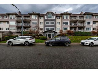 """Photo 1: 307 33599 2ND Avenue in Mission: Mission BC Condo for sale in """"Stave Lake Landing"""" : MLS®# R2424378"""