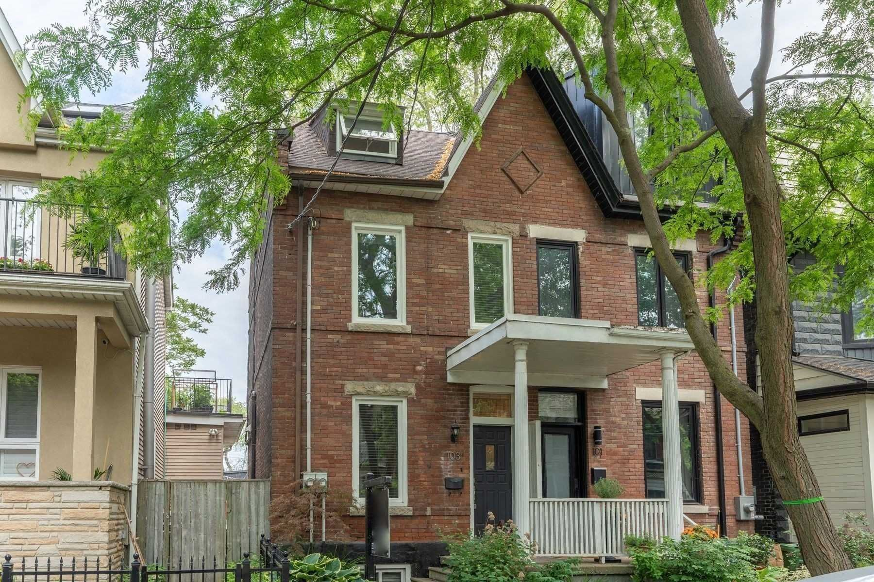 Main Photo: 103 Morse Street in Toronto: South Riverdale House (2 1/2 Storey) for lease (Toronto E01)  : MLS®# E5312667