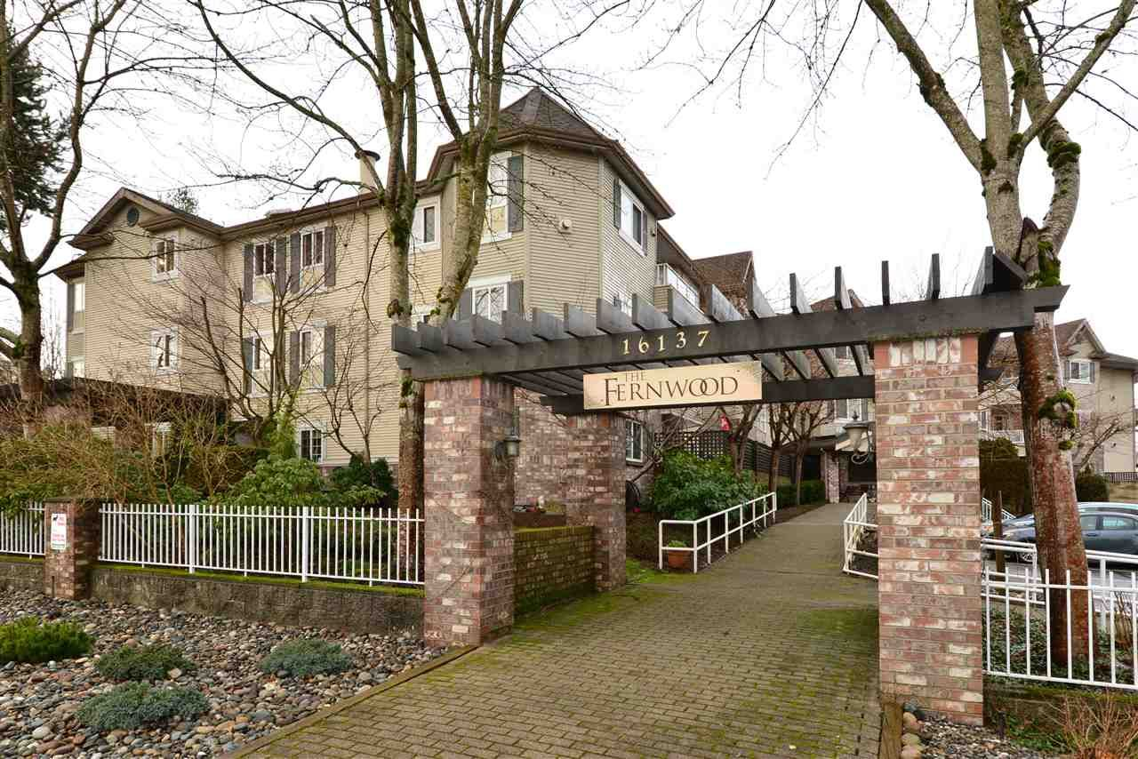 "Main Photo: 316 16137 83 Avenue in Surrey: Fleetwood Tynehead Condo for sale in ""The Fernwood"" : MLS®# R2029497"