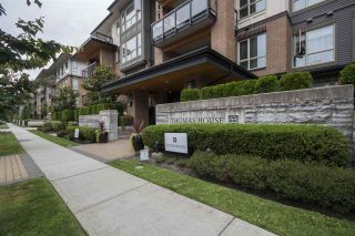 "Photo 1: 409 1150 KENSAL Place in Coquitlam: New Horizons Condo for sale in ""THOMAS HOUSE BY POLYGON"" : MLS®# R2094347"