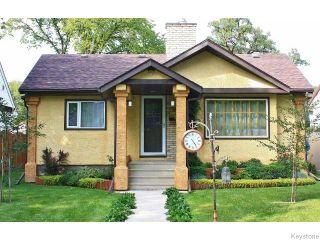 Photo 1: 589 Gareau Street in WINNIPEG: St Boniface Residential for sale (South East Winnipeg)  : MLS®# 1525303