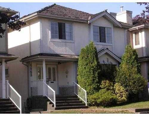 Main Photo: 6063 ONTARIO Street in Vancouver West: Home for sale : MLS®# V791096