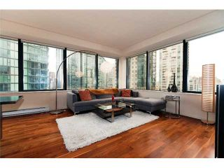 """Photo 2: 1409 1333 W GEORGIA Street in Vancouver: Coal Harbour Condo for sale in """"THE QUBE"""" (Vancouver West)  : MLS®# V888854"""