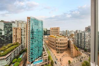 """Photo 1: 2302 833 HOMER Street in Vancouver: Downtown VW Condo for sale in """"Atelier"""" (Vancouver West)  : MLS®# R2615820"""