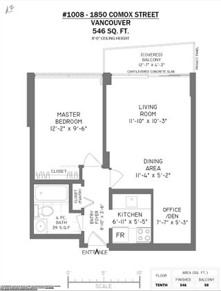 """Photo 16: 1008 1850 COMOX Street in Vancouver: West End VW Condo for sale in """"THE EL CID"""" (Vancouver West)  : MLS®# R2528514"""
