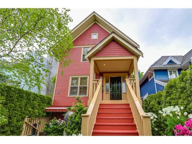 Main Photo: 833 W 19TH Avenue in Vancouver: Cambie 1/2 Duplex for sale (Vancouver West)  : MLS®# V1062869