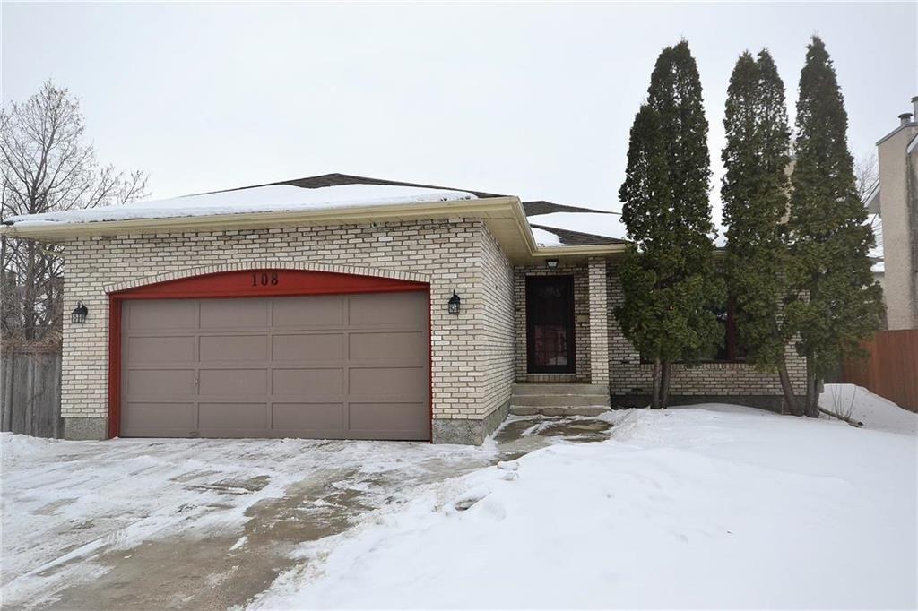 Main Photo: 108 Apple Hill Road in Winnipeg: Whyte Ridge Residential for sale (1P)  : MLS®# 202005014
