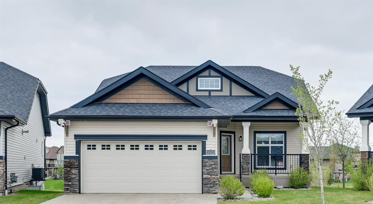 Main Photo: 2322 Ashcraft Cape in Edmonton: House for sale