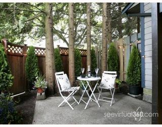 """Photo 8: 223 BALMORAL Place in Port_Moody: North Shore Pt Moody Townhouse for sale in """"BALMORAL PLACE"""" (Port Moody)  : MLS®# V775148"""