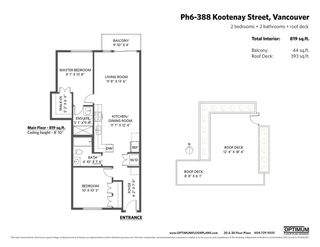 "Photo 20: PH6 388 KOOTENAY Street in Vancouver: Hastings Sunrise Condo for sale in ""View 388"" (Vancouver East)  : MLS®# R2436652"