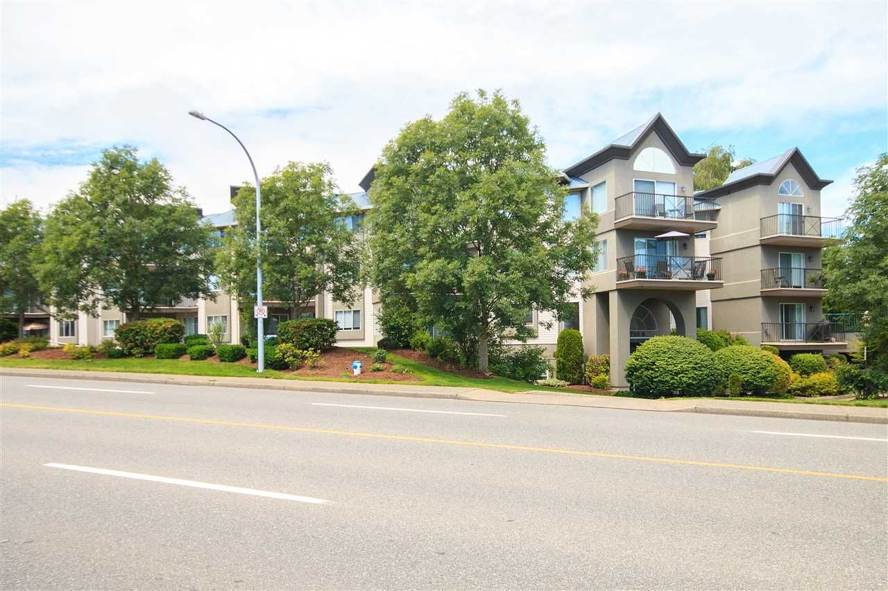 "Main Photo: 219 32725 GEORGE FERGUSON Way in Abbotsford: Abbotsford West Condo for sale in ""The Uptown"" : MLS®# R2076632"