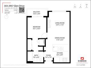 """Photo 19: 303 2957 GLEN Drive in Coquitlam: North Coquitlam Condo for sale in """"THE PARC"""" : MLS®# R2590434"""