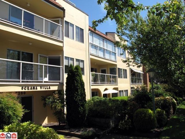 "Main Photo: 210 1280 FIR Street: White Rock Condo for sale in ""Ocean Villa"" (South Surrey White Rock)  : MLS®# F1122357"