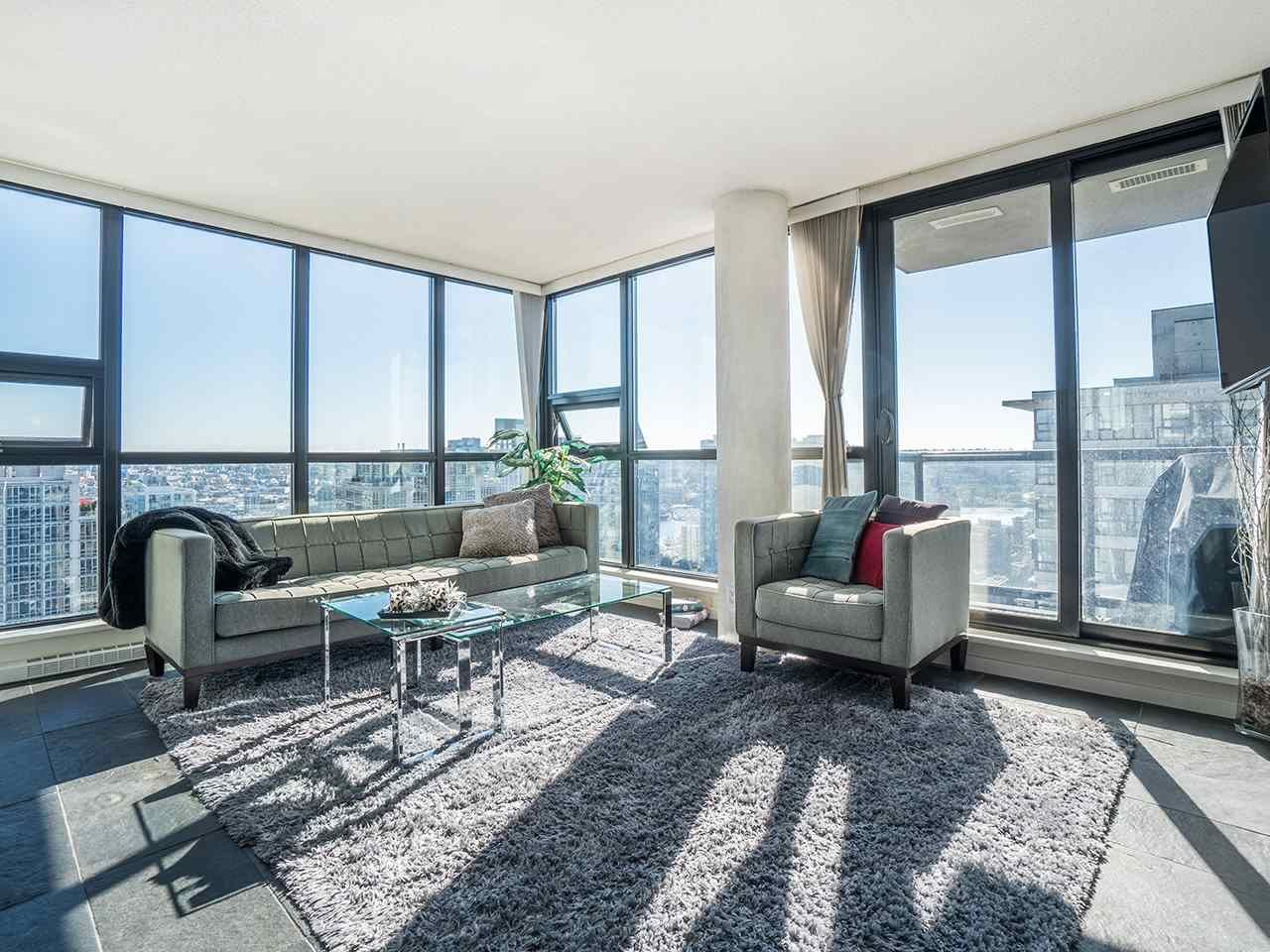 Main Photo: 2903 909 MAINLAND STREET in Vancouver: Yaletown Condo for sale (Vancouver West)  : MLS®# R2213017