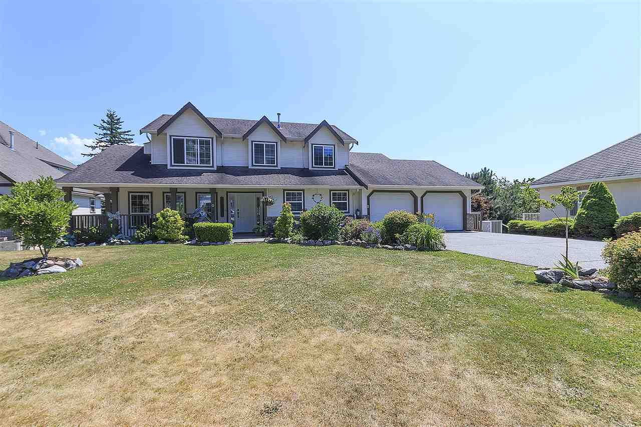 "Main Photo: 36358 SANDRINGHAM Drive in Abbotsford: Abbotsford East House for sale in ""Carrington Estates"" : MLS®# R2187141"