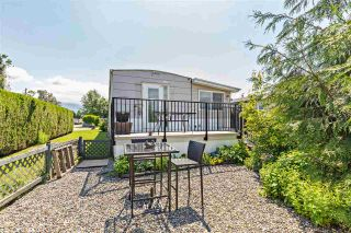 "Photo 27: 36 7610 EVANS Road in Chilliwack: Sardis West Vedder Rd Manufactured Home for sale in ""COTTONWOOD MOBILE HOME PARK"" (Sardis)  : MLS®# R2457384"