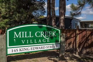 """Photo 25: 125 145 KING EDWARD Street in Coquitlam: Maillardville Manufactured Home for sale in """"MILL CREEK VILLAGE"""" : MLS®# R2493736"""