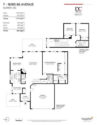 "Photo 32: 7 16180 86 Avenue in Surrey: Fleetwood Tynehead Townhouse for sale in ""Fleetwood Gates"" : MLS®# R2617078"