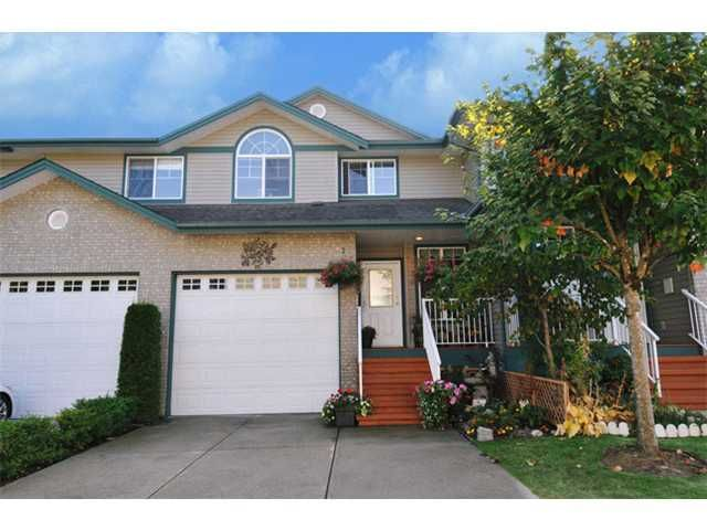 """Main Photo: 23 11358 COTTONWOOD Drive in Maple Ridge: Cottonwood MR Townhouse for sale in """"CARRIAGE LANE"""" : MLS®# V976270"""
