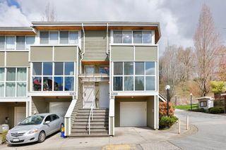 """Photo 1: 3359 FIELDSTONE Avenue in Vancouver: Champlain Heights Townhouse for sale in """"Marine woods"""" (Vancouver East)  : MLS®# R2570281"""