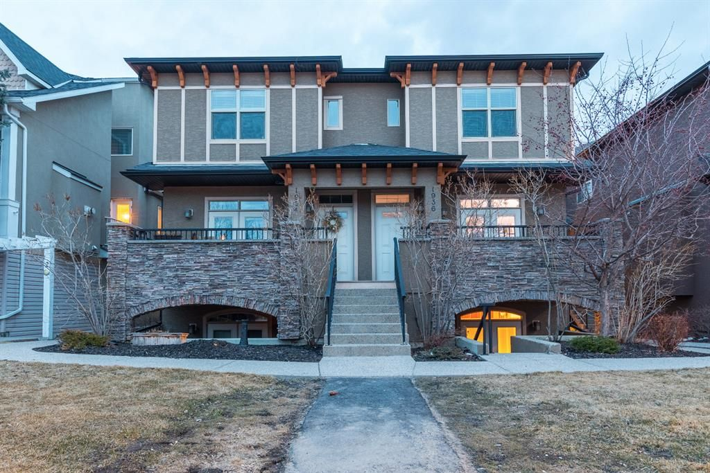Main Photo: 1936 24A Street SW in Calgary: Richmond Row/Townhouse for sale : MLS®# A1086373