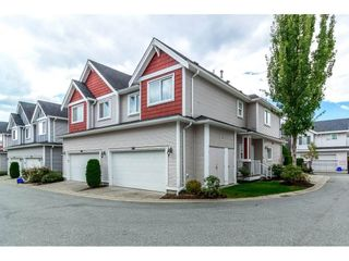 """Photo 1: 19 19977 71ST Avenue in Langley: Willoughby Heights Townhouse for sale in """"SANDHILL VILLAGE"""" : MLS®# R2330677"""