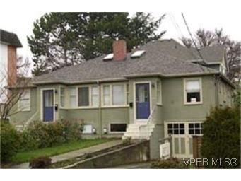 Main Photo:  in VICTORIA: Vi Fairfield West Half Duplex for sale (Victoria)  : MLS®# 419435