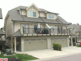 """Photo 1: 20 8358 121A Street in Surrey: Queen Mary Park Surrey Townhouse for sale in """"KENNEDY TRAIL"""" : MLS®# F1206595"""