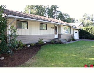 """Photo 1: 2839 WOODLAND Street in Abbotsford: Central Abbotsford House for sale in """"East Abby"""" : MLS®# F2921747"""