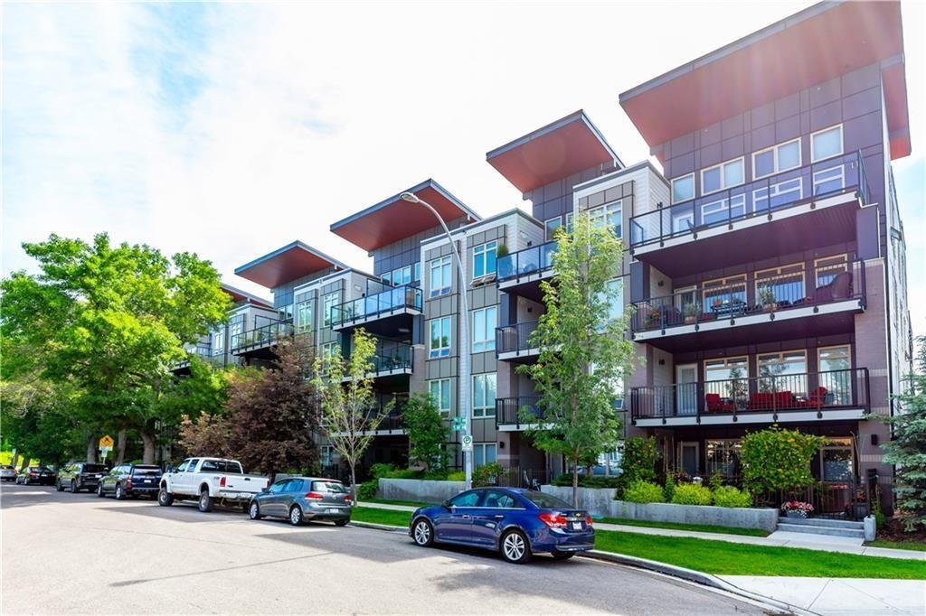 Main Photo: 416 823 5 Avenue NW in Calgary: Sunnyside Apartment for sale : MLS®# C4257116